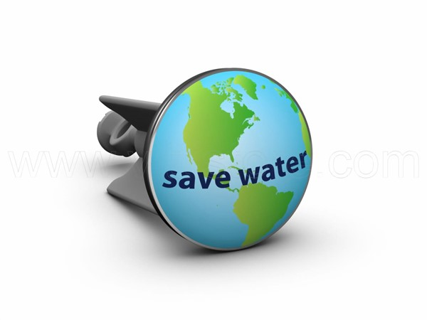 Bild von plopp Stöpsel Save Water World